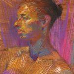Colored Pastel Portrait