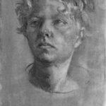 Self Portrait in Charcoal (2016)